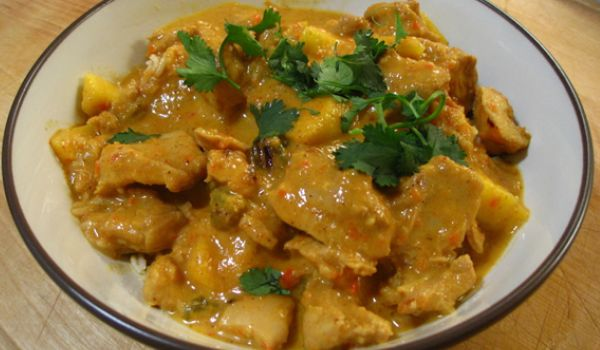 Chicken Curry In Coconut Milk Recipe