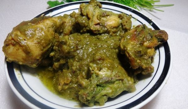 Chicken Hariyali