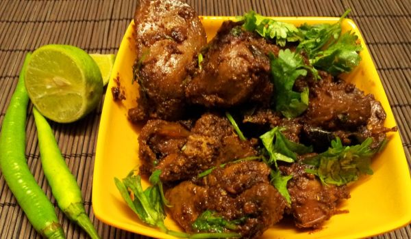 Chicken Liver Fry Recipe