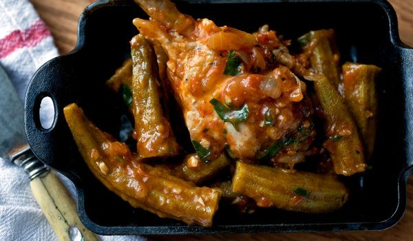 Chicken Okra Recipe