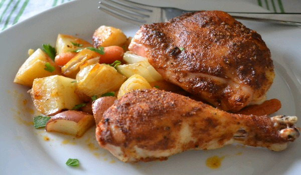 Chicken Potato Roast