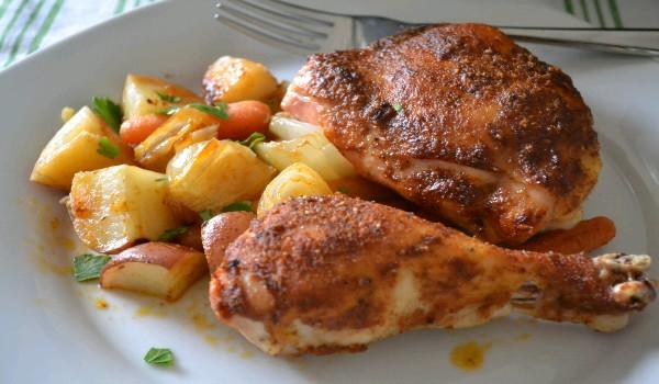 Chicken Potato Roast Recipe