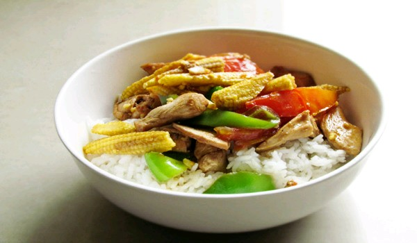 Chicken With Baby Corn