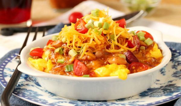 Chili Eggs Recipe