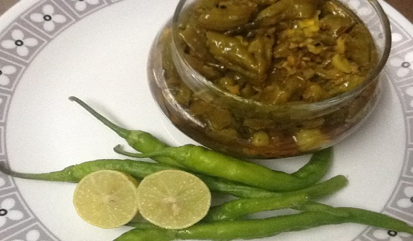 Chili Ginger Pickle