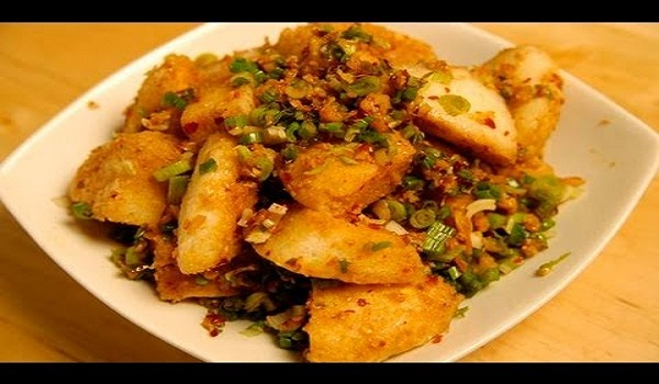 Chilli Garlic Idlis Recipe