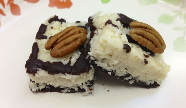Choco Coconut Bars