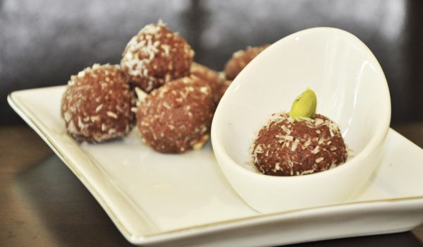 Choco Coconut Laddoos