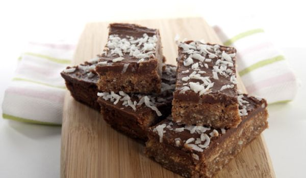 Chocolate And Coconut Slices