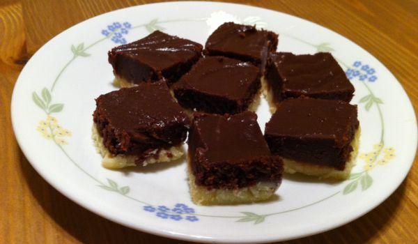 Chocolate Burfi Recipe