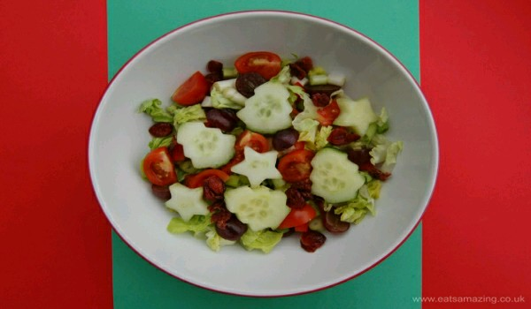 Christmas Red and Green Salad