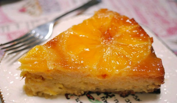 Citrus Orange Cake Recipe