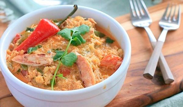 Coconut Crab Curry