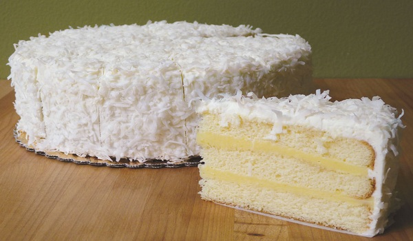 Coconut Lemon Cake Recipe