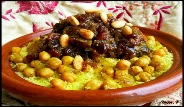 Couscous Tfaya Recipe
