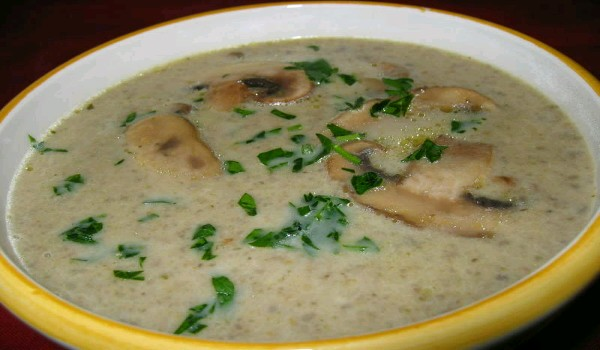 Cream of Broccoli Mushroom Soup