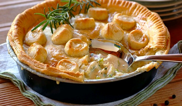 Creamy Chicken Pie Recipe