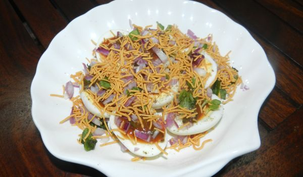Egg Chaat