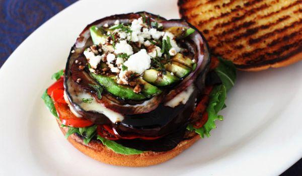 Eggplant Burgers