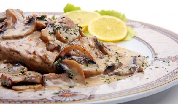 English Mushroom Sauce Recipe