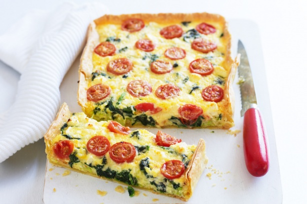 Feta and Tomato Slices Recipe