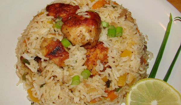 Fish fried rice recipe how to make fish fried rice for Rice recipes to go with fish
