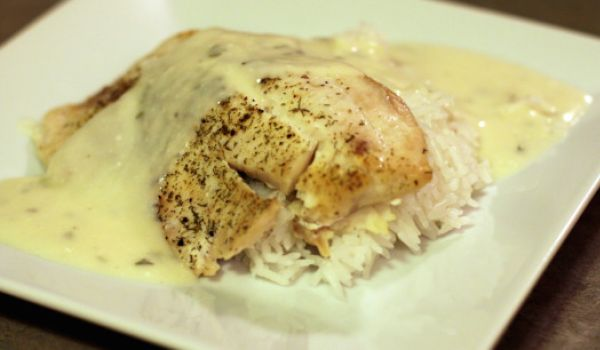 Fish in White Sauce