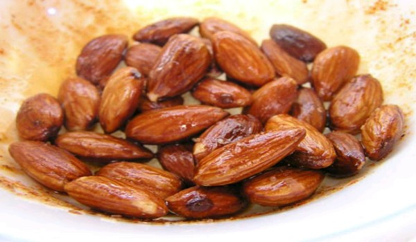 Fried Almonds Recipe