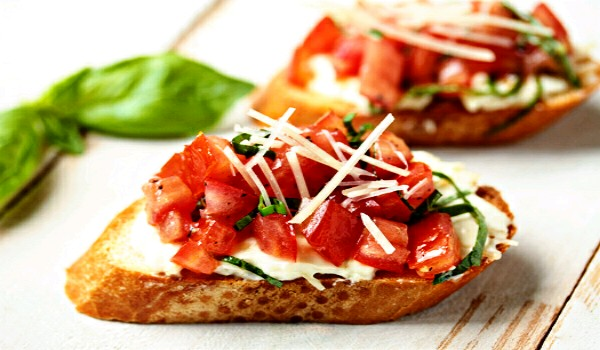 Garlic Bruschetta