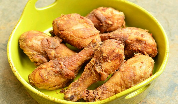 Garlic Fried Chicken  Recipe