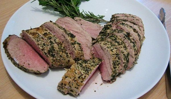 Garlic Herb Grilled Pork Tenderloin Recipe