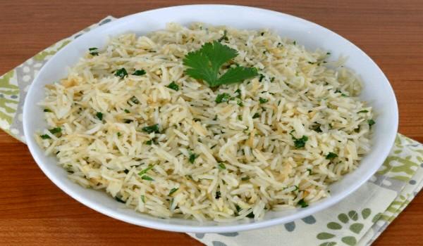 Ginger-Cilantro Rice Recipe