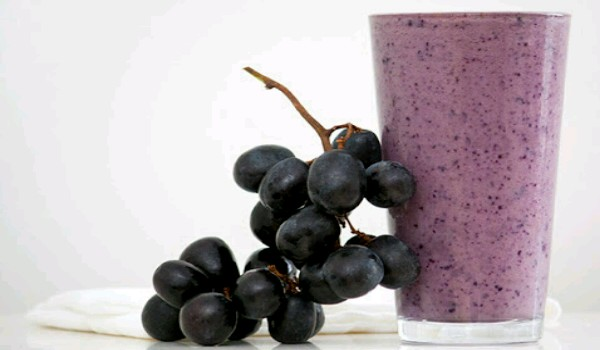 Grape Milkshake