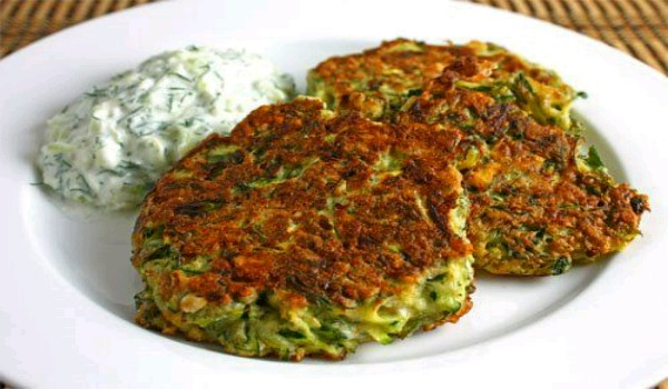 Greek Onion Fritters