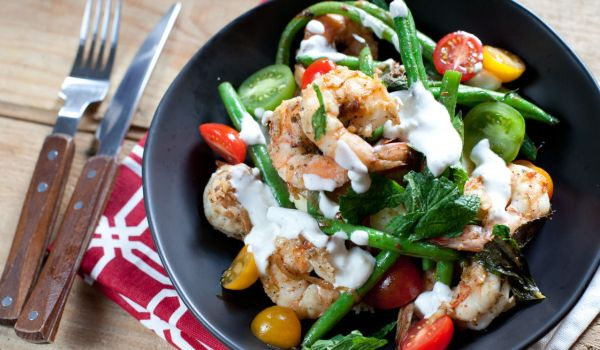 Green Beans with Shrimp Recipe