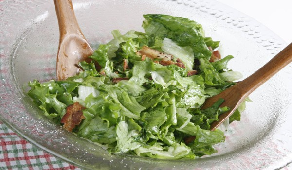Green Leaf Lettuce Salad