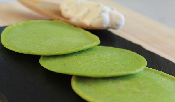 Green Pea Pancakes Recipe