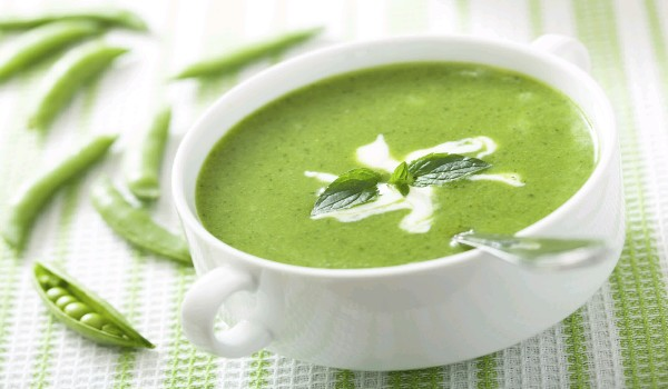 Green Peas Skin Soup Recipe