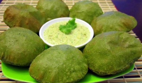 Green Poori