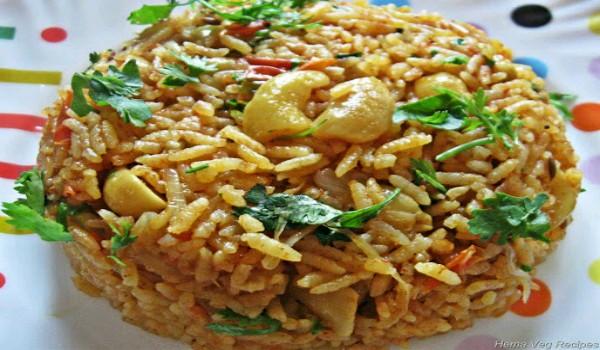 Groundnut Pulao Recipe