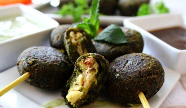 Hariyali Kabab