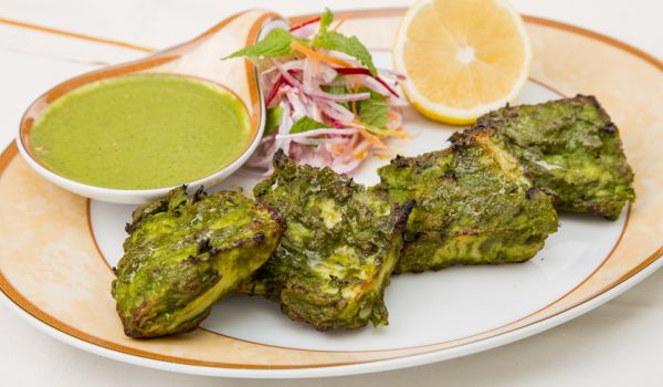 Hariyali Paneer Tikka Recipe How To Make Hariyali Paneer