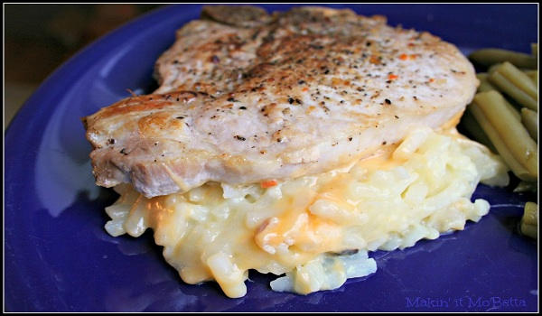 Hash Brown and Pork Chop Casserole Recipe