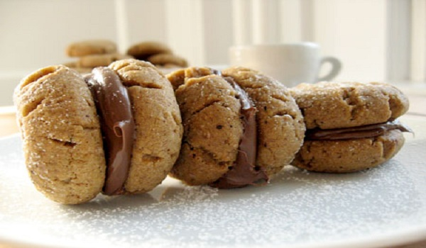 Hazelnut Butter Cookies