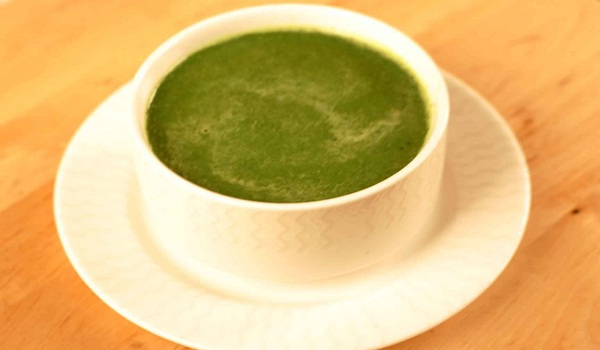 Healthy Palak Soup Recipe