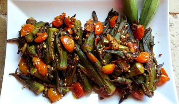 Indian Okra Recipe How To Make Indian Okra How To Prepare Indian Okra Recipe