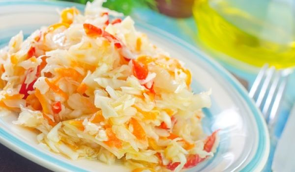 Jamaican Cabbage And Carrots