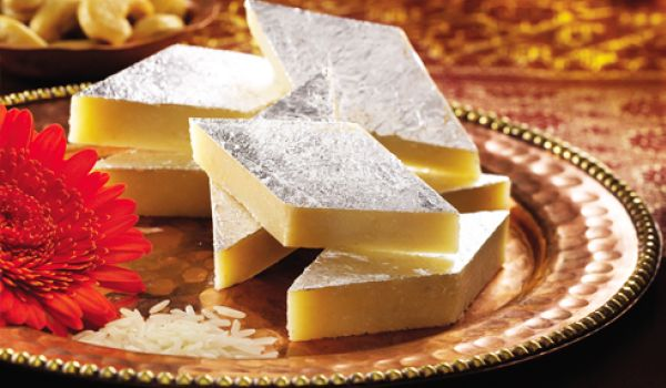 Kaju Burfi Recipe