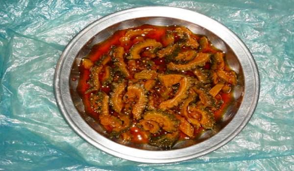 Karela Aachar Recipe