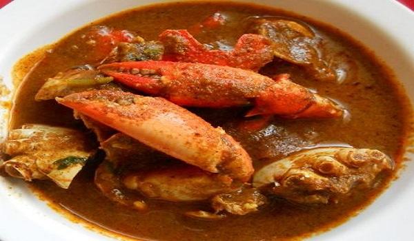Kerala Crab Curry Recipe